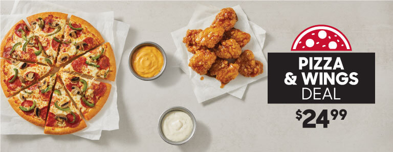 Order Pizza Online Wings Delivery Deals Pizza Hut Canada